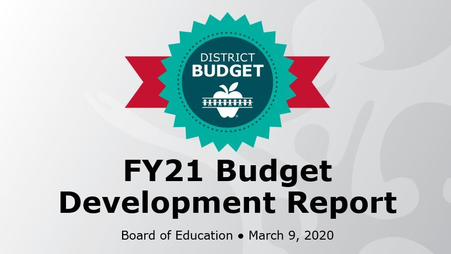 BOE video: Budget Development Report